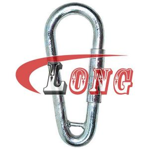 Welded Link Pear Shape With Spring Stainless Steel,aka pear shape spring hook,made of Marine Grade AISI304/316,safety factor is 5:1,China manufacturer
