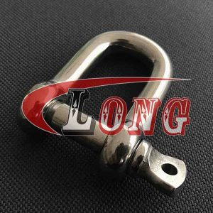 D shackle,JIS,dee shackle,chain shackle,shackles,lifting shackles,screw pin shackle,stainless steel d shackle,stainless shackles,suppliers,manufacturer