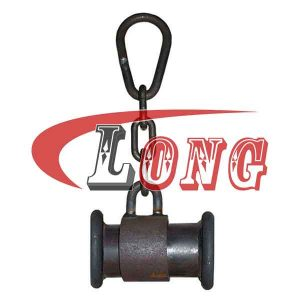Chain Toggles Steel Spacers,aka steel spacers with ring and chain,made of superior mild steel,cast&weld,used for fishing trawl foot-rope,China manufacturer
