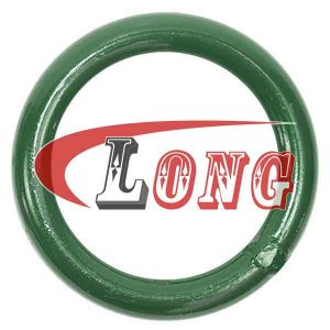 O Ring Welded Steel,aka o ring seal welded,it's made of mild steel,been welded,safety factor is 5:1,used for trawling gear,China manufacturer supplier