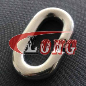 Stainless Steel C Chain Link,aka split link or C chain ring,it's C shape,used for linking with chain,made of marine grade AISI 304/316,China manufacturer
