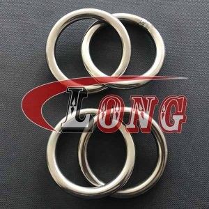O Ring Double Stainless Steel,aka round ring or O ring seal,made of marine grade AISI304/316,been welded,used for trawling gear,China manufacturer