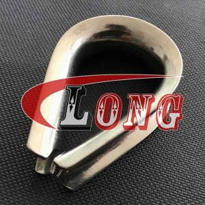 Stainless steel Wire Rope Thimble European type,aka thimble eye,cable thimble,conform to European type,made of Stainless Steel 304/316,China manufacturer