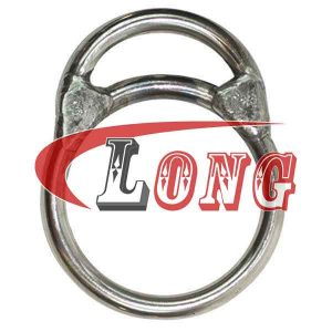 Welded Ring MO Type Stainless Steel,aka stainless steel ring,made of marine grade AISI304/316,been welded,used for trawling,China manufacturer supplier