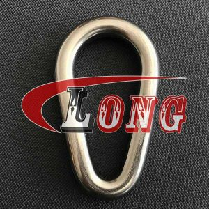 Welded Link Pear Shape Stainless Steel China manufacturer