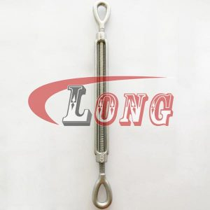 Turnbuckle Drop Forged Stainless Steel Eye&Eye US Type China manufacturer