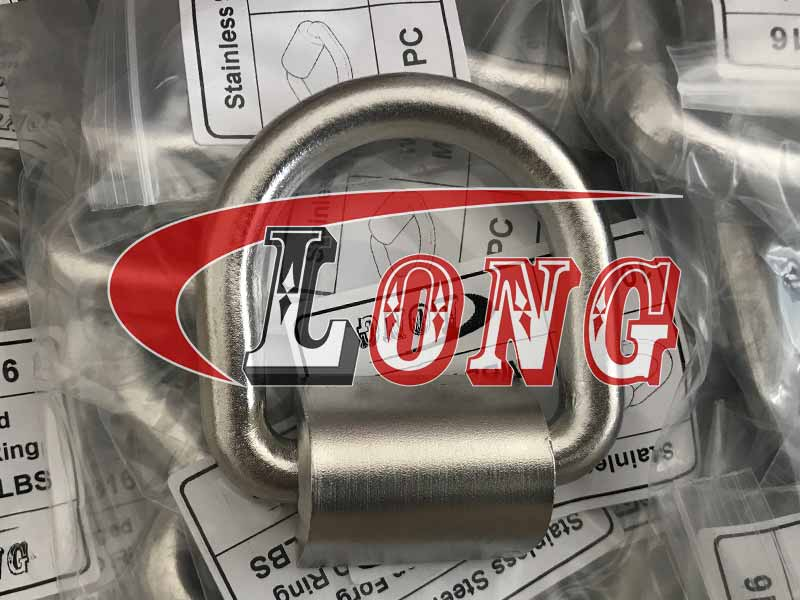 Stainless Steel Drop Forged Weld-on D Ring China manufacturer