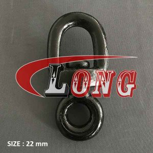 Chain Swivel Drop Forged Mild Steel 22mm for fishing and trawling gear-China LG™ china manufacturer supplier