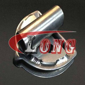 D-Ring Thimble with Tube Cast Stainless steel China manufacturer