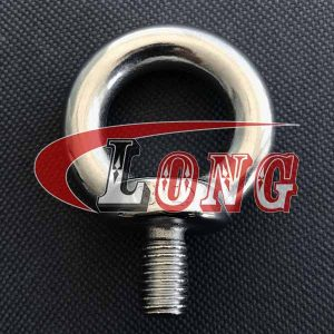 Lifting Eye Bolt DIN 580 UNC Thread Stainless Steel China manufacturer