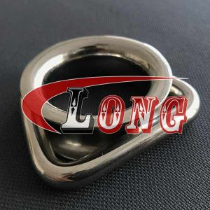 Stainless Steel D Ring Thimble Round Shave Wire Rope China manufacturer