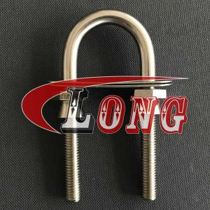 Stainless Steel U Bolt Clamp PSN Type with Safety Nut China manufacturer