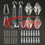 Shade Sail Hardware Kit Mounting Hardware Stainless Steel China manufacturer