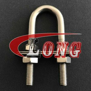U Clamp Stainless Steel PFSN Type with Plate & Special Nut China manufacturer