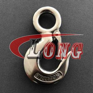 Cargo Hook with Latch S-320 Stainless Steel China manufacturer