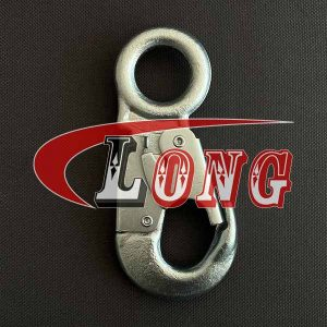 Double Locking Snap Hook Electric Galvanized China manufacturer