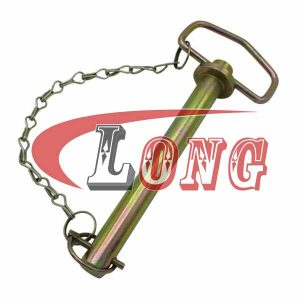 Forged Hitch Pin with Lynch Pin & Chain China manufacturer