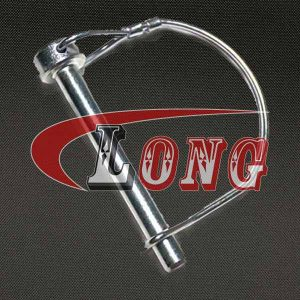 Round Wire Lock Pin Stainless Steel China manufacturer