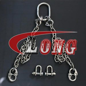 2 Leg Chain Sling Stainless Steel China manufacturer