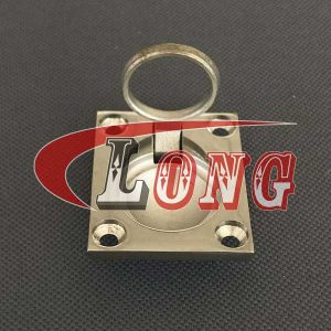 Stainless Steel Boat Hatch Lift Ring Handle-China LG Manufacture